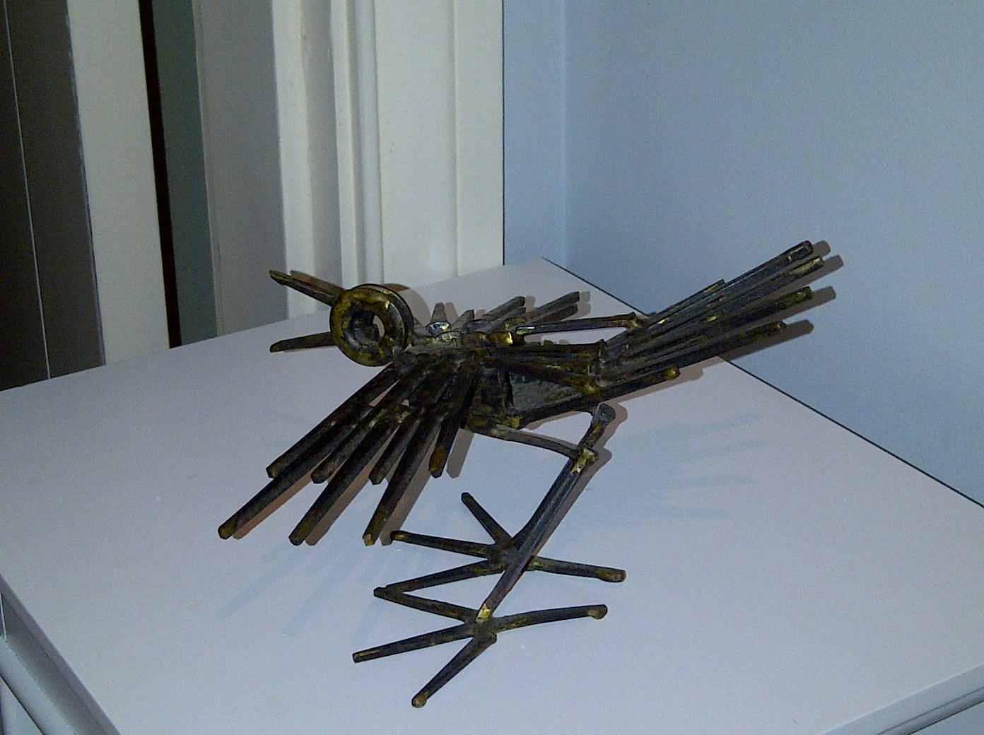 Personal welding sculpture