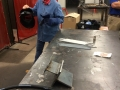 Me, MIG welding at the Frederick Community College-4
