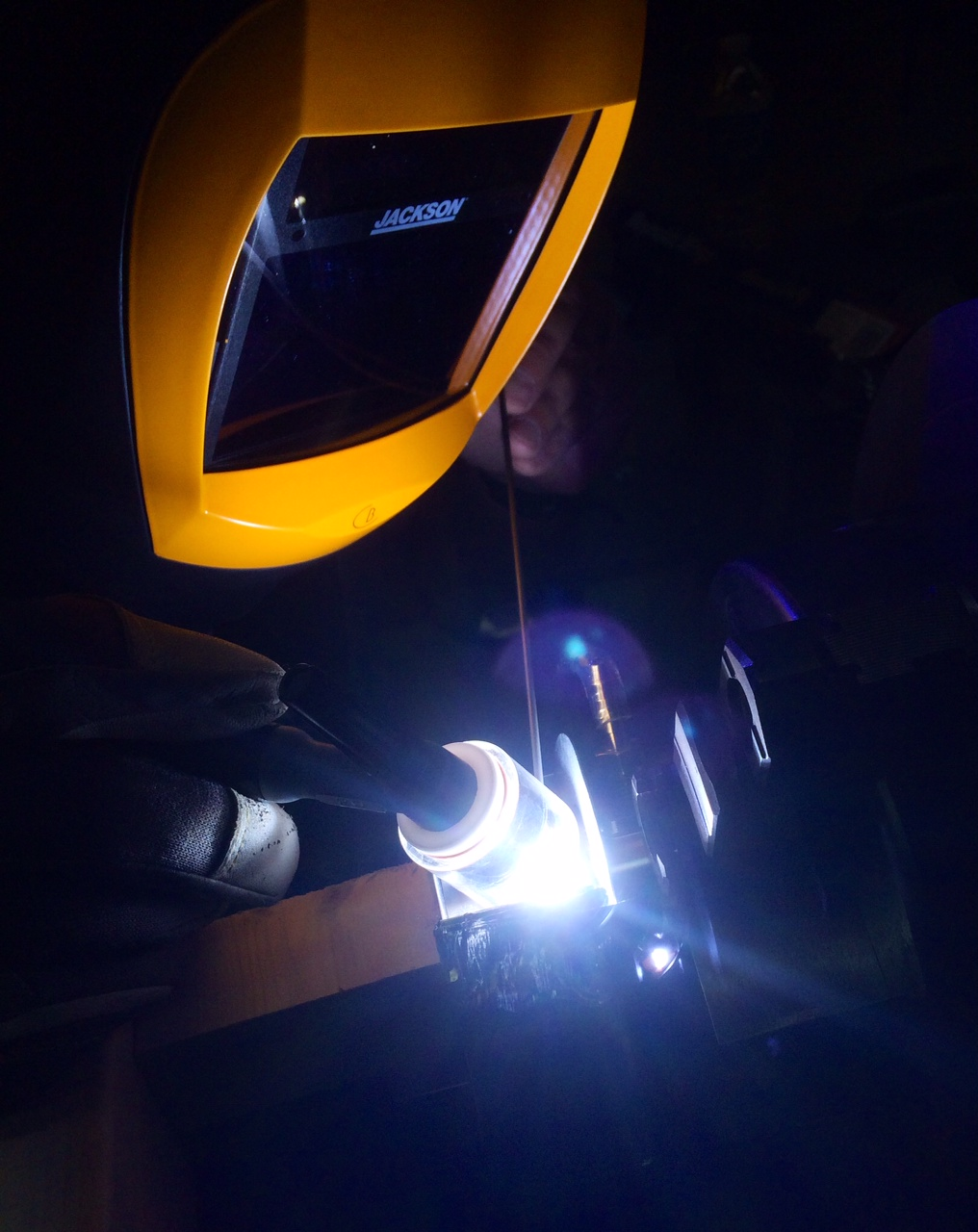 Titanium welding for NASA's Venus Atmosphere Project 3