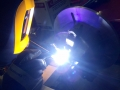 Titanium welding for NASA's Venus Atmosphere Project 1