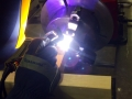 Titanium welding for NASA's Venus Atmosphere Project 4