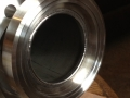 SS Flange to .006 ' bellows with inner weld