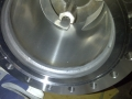 Welding a flange onto a stainless steel vessel-2