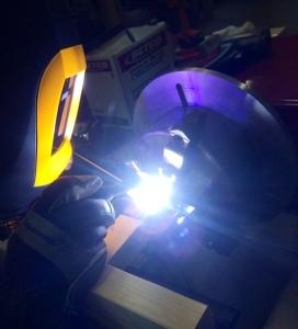 Titanium welding for NASA's Venus Atmosphere Project